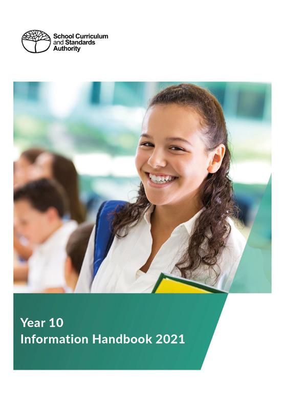 Year 10 Handbook cover